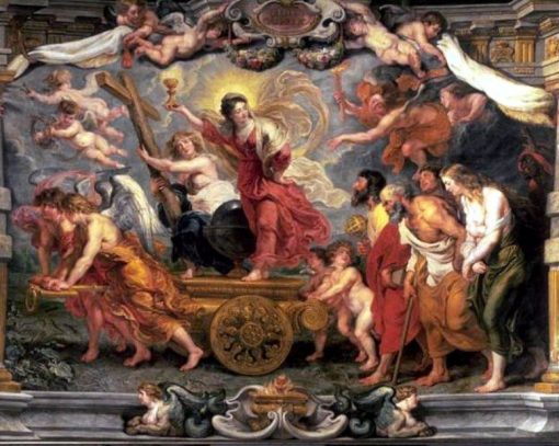 Triumph of the Eucharist | Peter Paul Rubens | Oil Painting