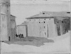 Marino near Rome | Jean Baptiste Camille Corot | Oil Painting