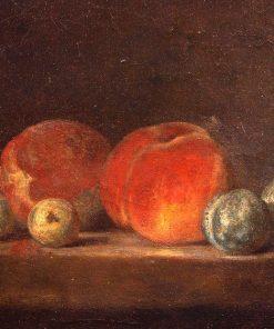 Pêches et Prunes | Jean Baptiste Simeon Chardin | Oil Painting