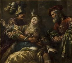 La mort de Lucrece (The Death of Lucretia) | Claude Vignon | Oil Painting