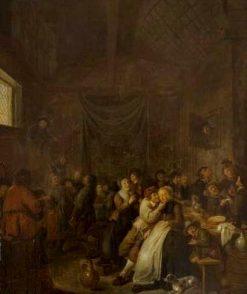 La Fête des rois | Jan Miense Molenaer | Oil Painting