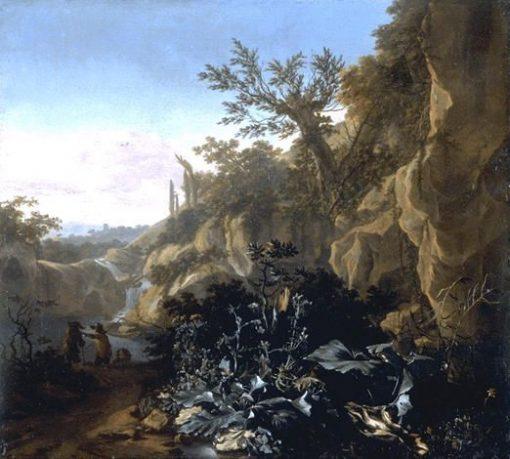 Mountainous Landscape | Adam Pynacker | Oil Painting