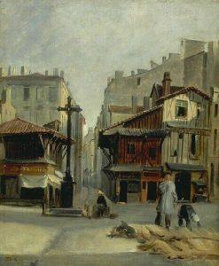 Livestock Market | Alexandre Gabriel Decamps | Oil Painting