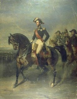 Equestrian Portrait of the Duc d'Orléans | Alfred de Dreux | Oil Painting