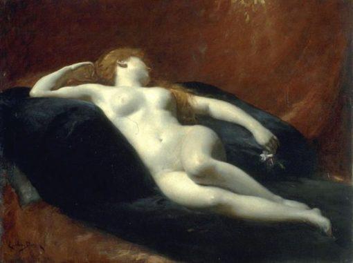 Danae | Charles Auguste Emile Durand | Oil Painting