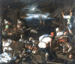 The Departure of the Arc | Jacopo Bassano | Oil Painting