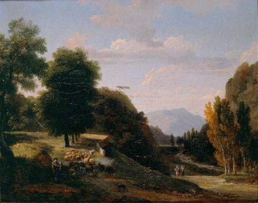 Pastoral Landscape | Jean Victor Bertin | Oil Painting