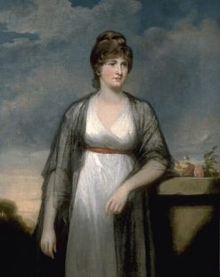 Portrait of Mrs Home | John Hoppner | Oil Painting