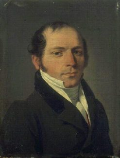 Profile of a Man | Louis LEopold Boilly | Oil Painting