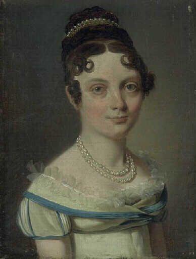 Portrait de femme | Louis LEopold Boilly | Oil Painting