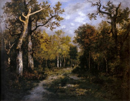 Forêt de Fontainbleau   Narcisse Dìaz de la Peña   Oil Painting
