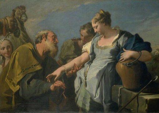 Eliezah and Rebecca   Sebastiano Ricci   Oil Painting