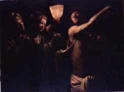 Saint Sebastian Healed by Irene | Trophime Bigot | Oil Painting