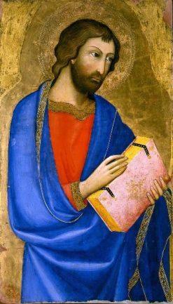 Saint Holding a Book | Andrea di Bartolo | Oil Painting