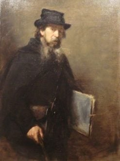 The Old Lithographer | Charles Auguste Emile Durand | Oil Painting