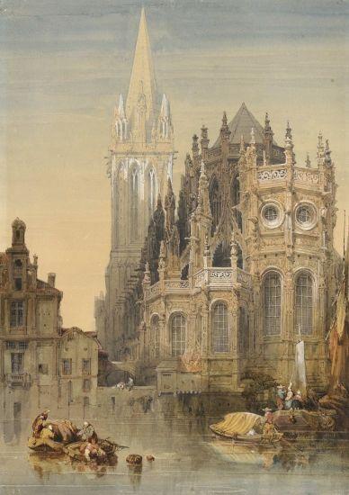 Chevet de l'église Saint-Pierre de Caen (St-Pierre
