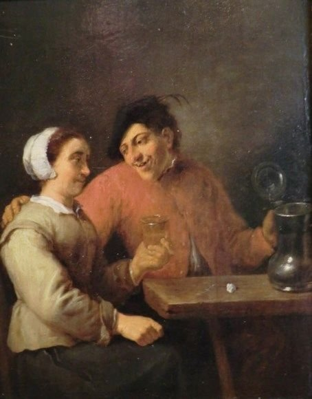 Drinkers | David Teniers II | Oil Painting