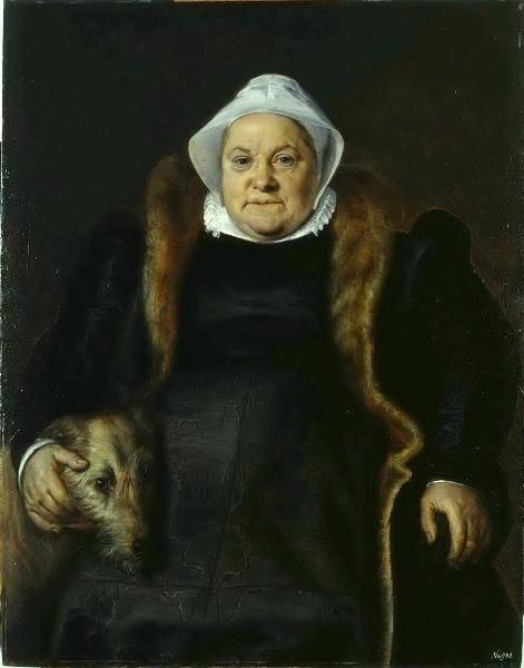 Portrait of an Old Lady | Frans Floris | Oil Painting