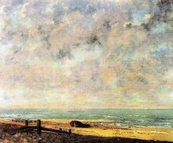 The Sea | Gustave Courbet | Oil Painting