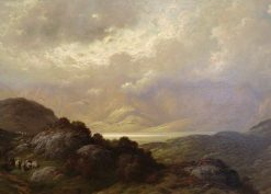 Scottish Landscape | Gustave DorE | Oil Painting