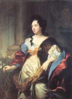 Le portrait de Mary Cadene | Hyacinthe Rigaud | Oil Painting