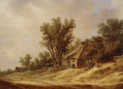 Landscape with Cabin | Jan van Goyen | Oil Painting