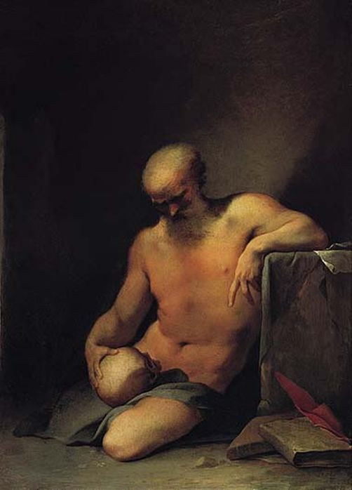 Saint Jerome | Lubin Baugin | Oil Painting