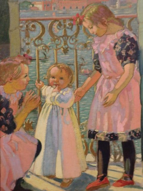 On a Balcony in Venice | Maurice Denis | Oil Painting