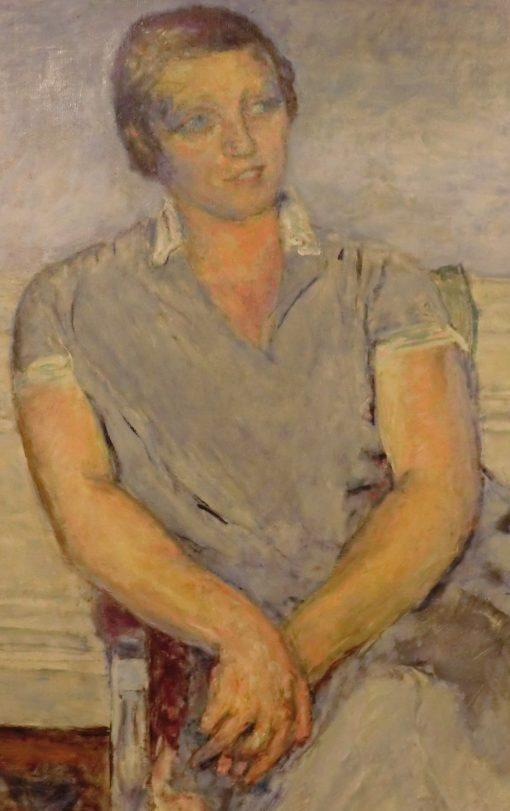 Portrait of Mme Henri-Jean Arthur Fontaine née Maximilienne Curtis (detail) | Pierre Bonnard | Oil Painting