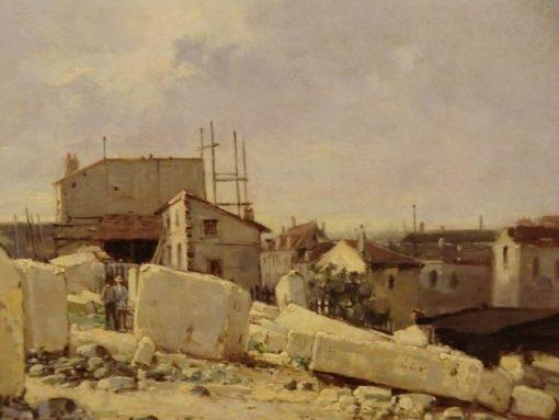 Traveaux des terrassements a Caen | Stanislas LEpine | Oil Painting