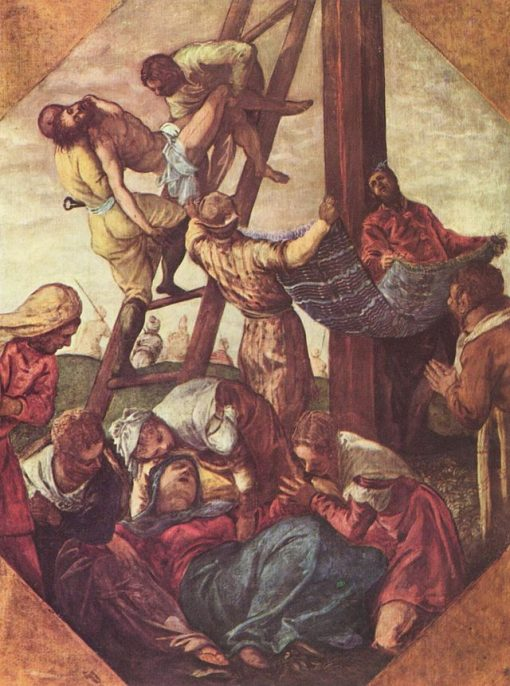 The Descent from the Cross | Tintoretto | Oil Painting