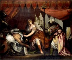 Heroines of the Old Testament - Judith and Holophernes | Veronese | Oil Painting