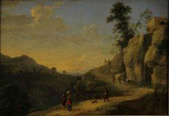 Landscape   Herman van Swanevelt   Oil Painting