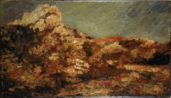 Provence Landscape | Adolphe Joseph Thomas Monticelli | Oil Painting