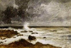 Seascape | Charles Emile Jacque | Oil Painting
