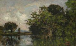 La mare aux hérons | Charles Francois Daubigny | Oil Painting