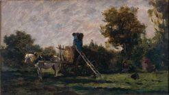 Les Vendanges | Charles Francois Daubigny | Oil Painting