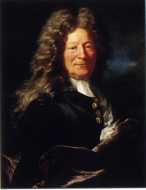Portrait of Francois Girardon | Hyacinthe Rigaud | Oil Painting