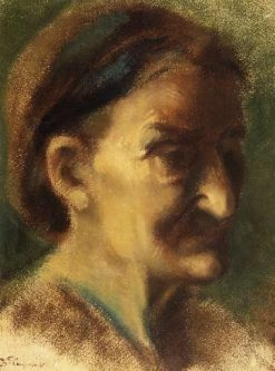Portrait of an Elderly Woman | Jean Baptiste Carpeaux | Oil Painting