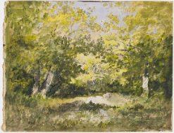 Clairiere | Narcisse Dìaz de la Peña | Oil Painting