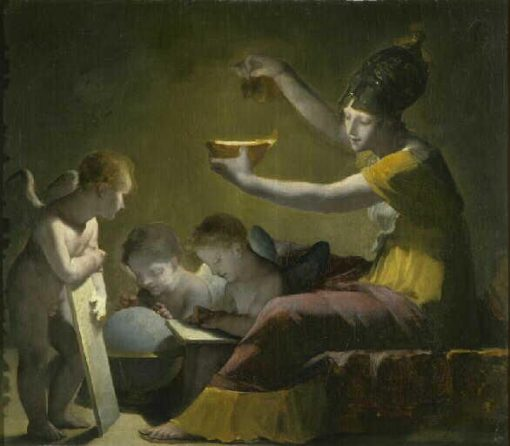 Minerve éclairant les Sciences et les Arts   Pierre Paul Prud'hon   Oil Painting