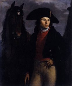 Portrait of Georges Anthony | Pierre Paul Prud'hon | Oil Painting
