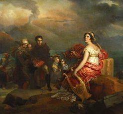 Garden of Love | Adolphe Joseph Thomas Monticelli | Oil Painting