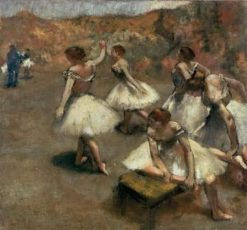 Dancers on a Stage | Edgar Degas | Oil Painting