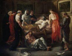 The Last Words of Emperor Marcus Aurelius | Eugene Delacroix | Oil Painting