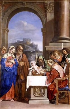 The Circumcision | Guercino | Oil Painting