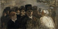 Passers-by | HonorE Daumier | Oil Painting