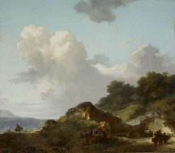 Le Rocher(also known as The Rock) | Jean HonorE Fragonard | Oil Painting