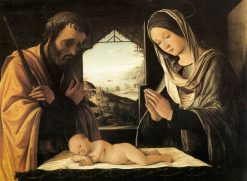 The Holy Family | Lorenzo Costa | Oil Painting