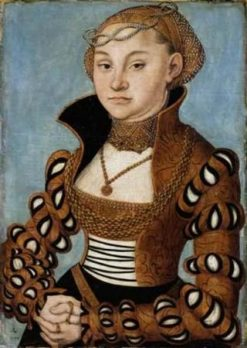 Portrait of a Lady from Saxony   Lucas Cranach the Elder   Oil Painting